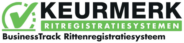 Keurmerk BusinessTrack Rittenregistratiesysteem
